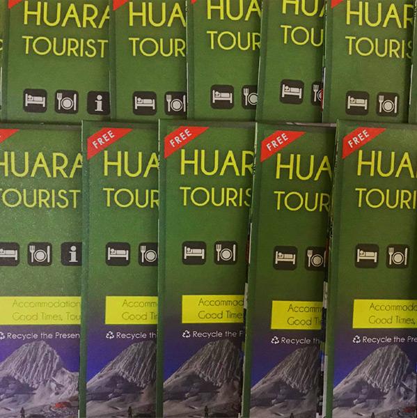 Huaraz Tourist Maps