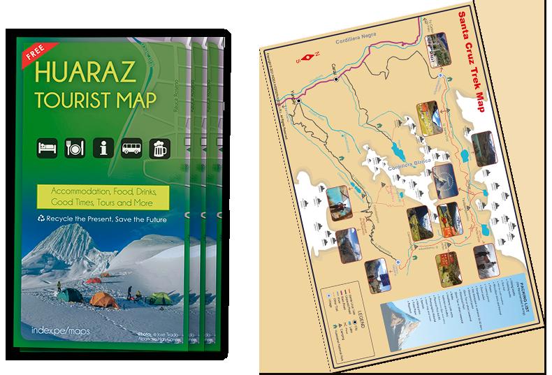 Huaraz Maps
